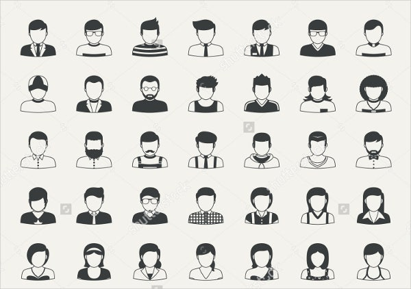 vector-business-people-icons-set