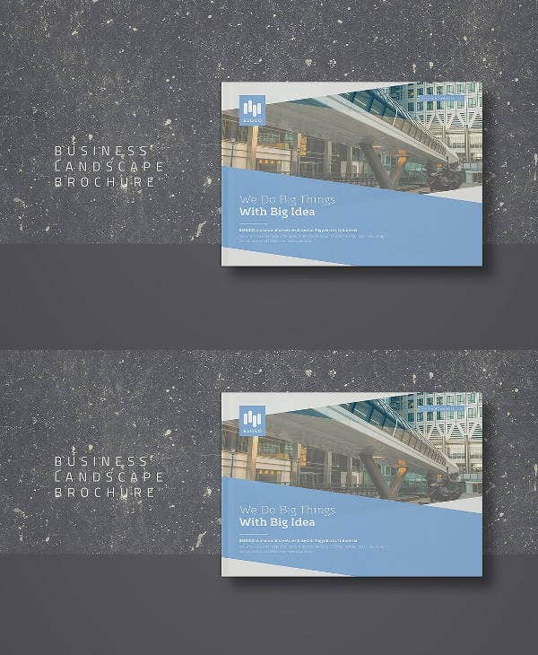 corporate-business-landscape-brochure