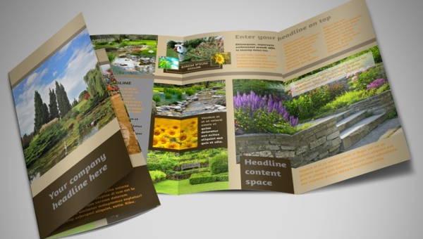 landscape business brochures