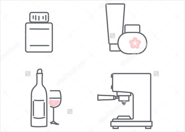 consumer-good-icons-set