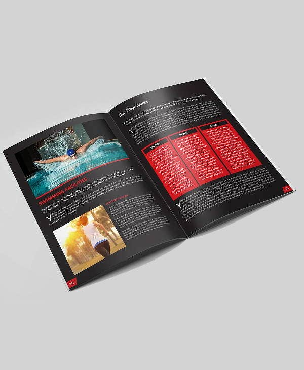 Corporate Fitness Brochures  Designs Templates  Free