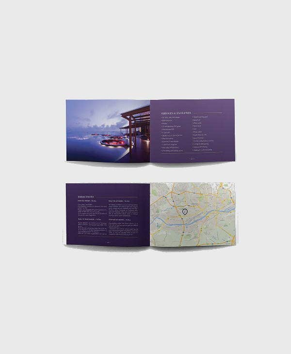 Multipurpose Corporate Hotel Brochure