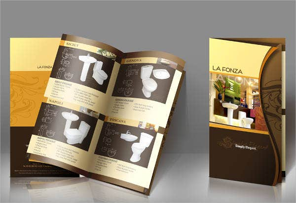 product presentation brochure