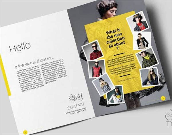 free presentation brochure template