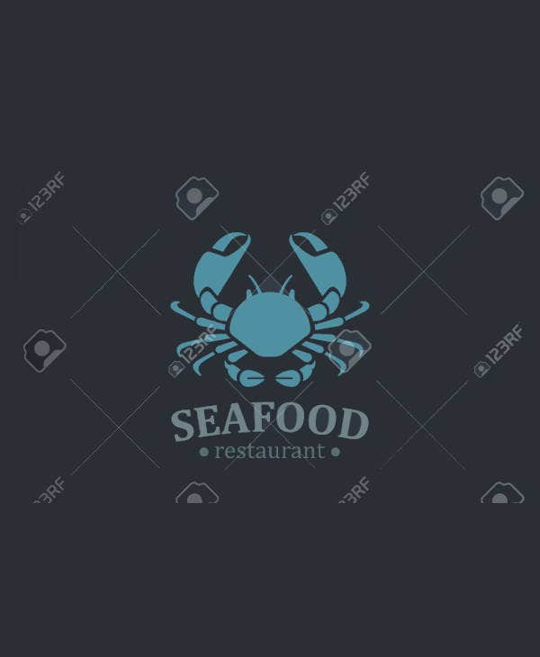 vintage-sea-food-restaurant-logo