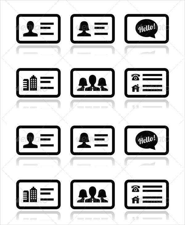 business-card-vector-icons-set