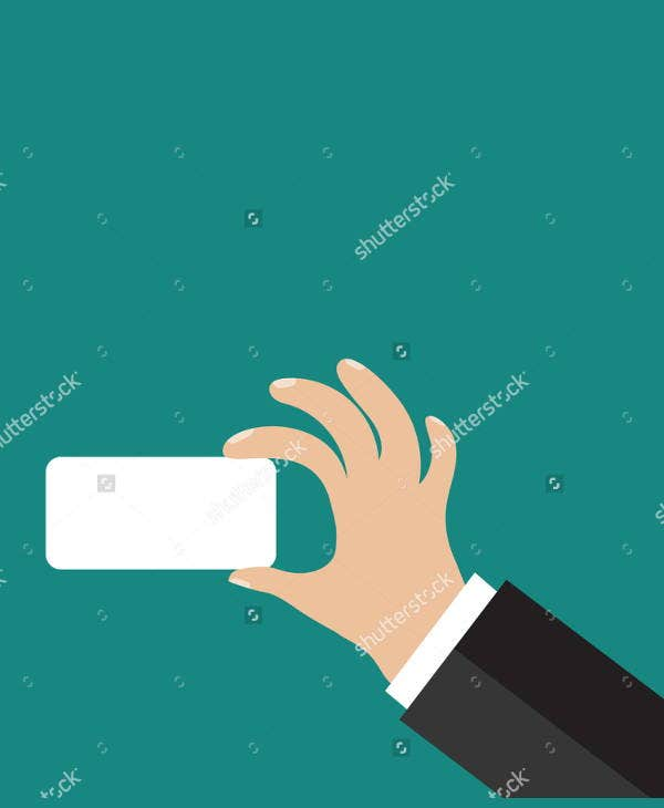 hand-holding-business-card-icon