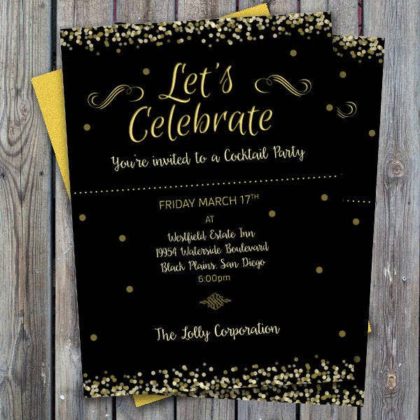7 Business Dinner Invitations Designs Templates – Business Invitation Template