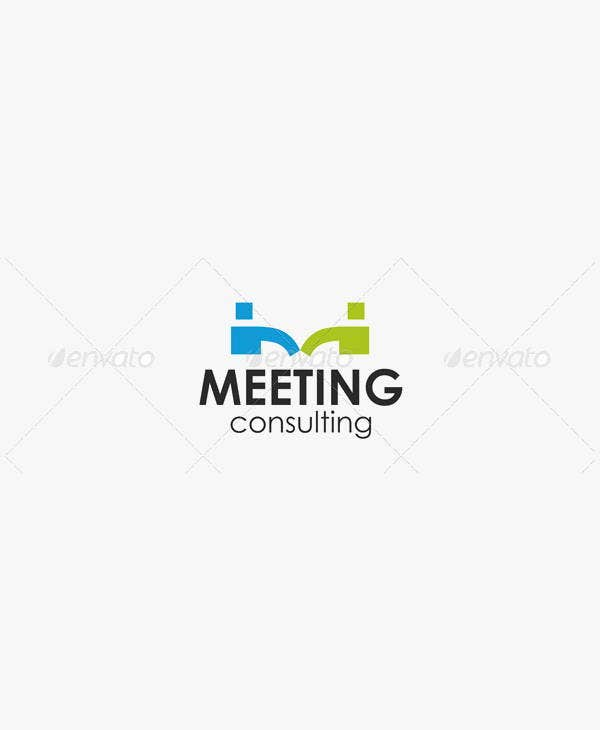 vintage-business-meeting-logo