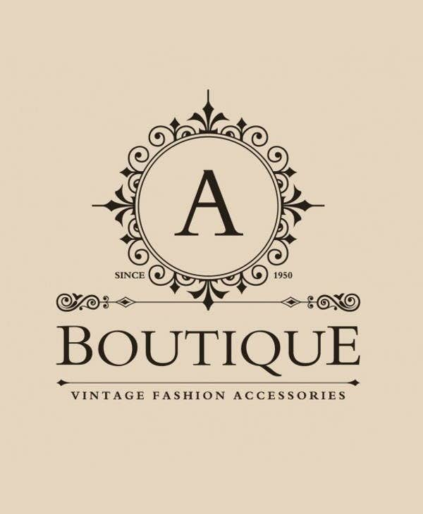 vintage-boutique-business-logo