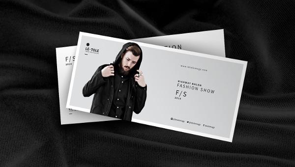 fashioneventpostcard