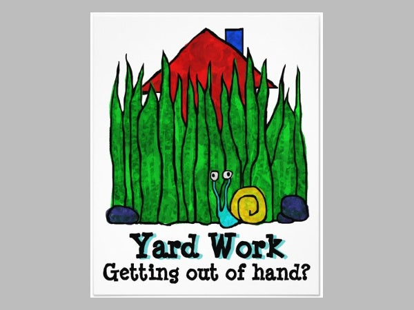 yard work flyers
