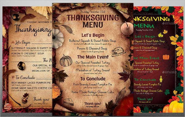 small-restaurant-thanksgiving-menu-template