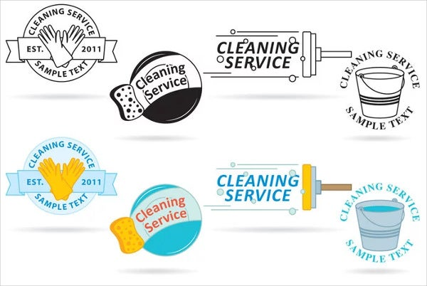 abstract-cleaning-company-logo