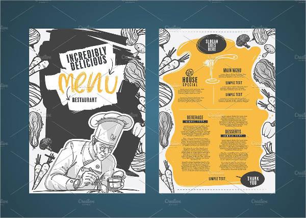 chalkboard-bbq-restaurant-menu-design