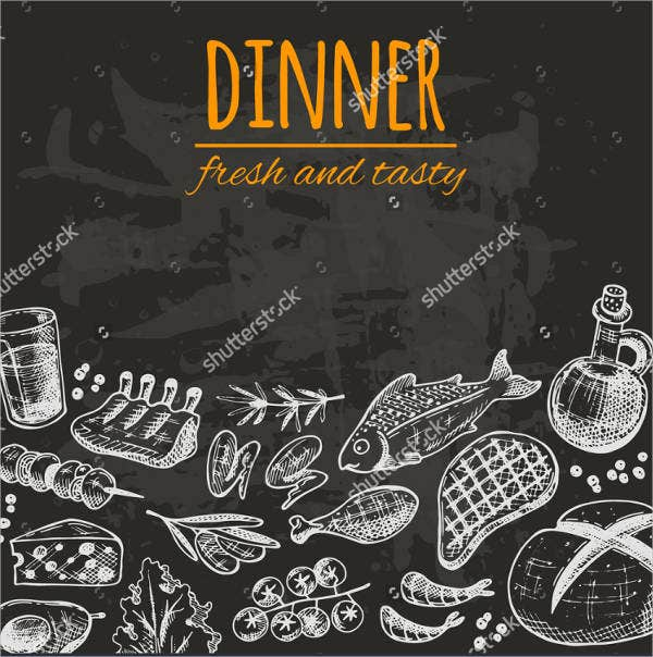 chalkboard-restaurant-dinner-menu-design