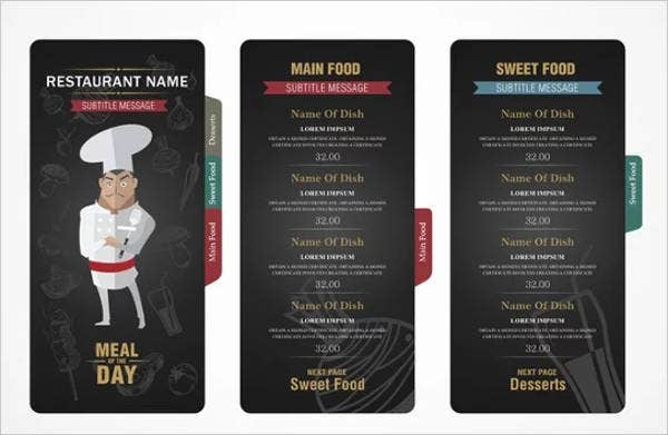 free-printable-small-restaurant-menu-template