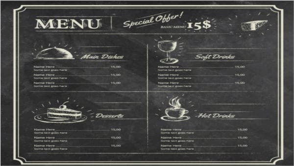 chalkboardrestaurantmenutemplates
