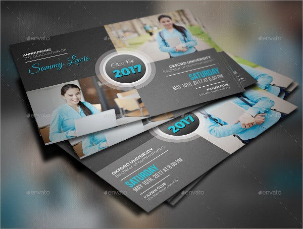 8 graduation invitation postcards designs templates free college graduation invitation postcard filmwisefo