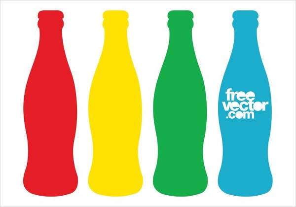 colorful-bottles-wrapper-template
