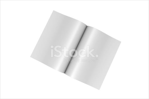 Photoshop Blank Magazine Template