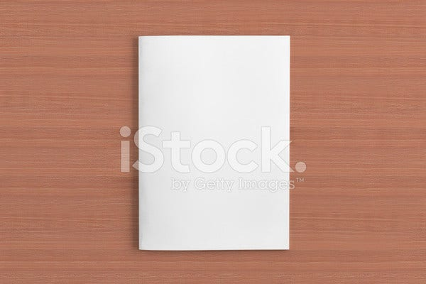 Blank Daily Magazine Template