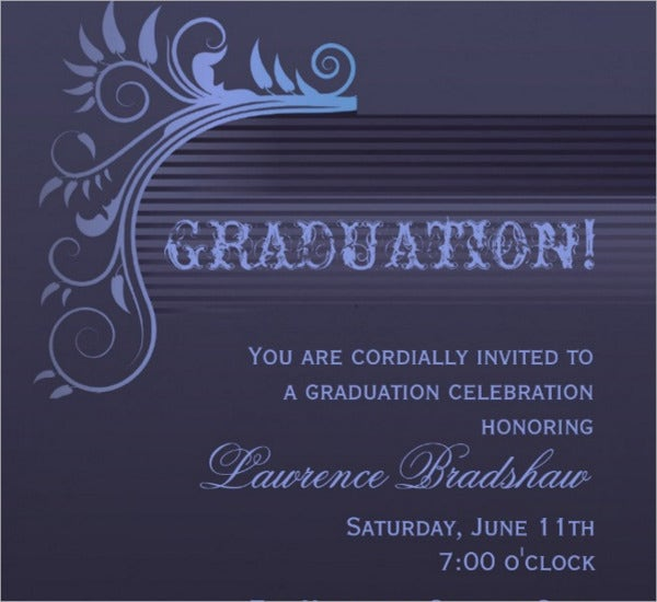 9+ Formal Event Invitations - Designs, Templates | Free & Premium