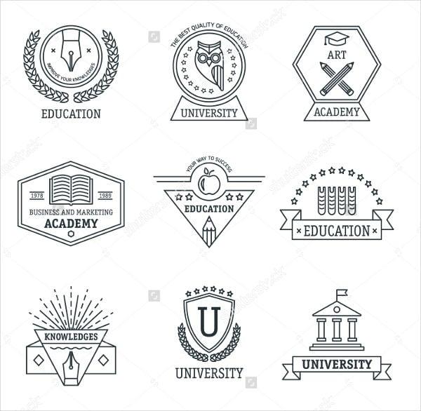vintage-college-logo-vector