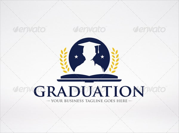 vintage-college-graduation-logo