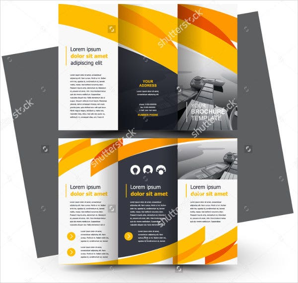 Good Business Marketing Trifold Brochure