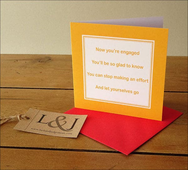 engagement-greeting-card-for-friend