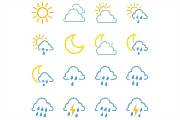 widget weather app icons
