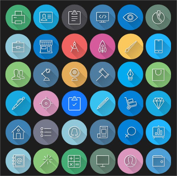 Free PSD Mac App Icons