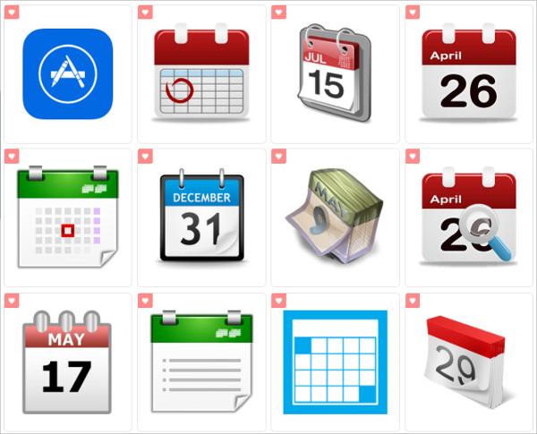 Mac Calendar App Icons