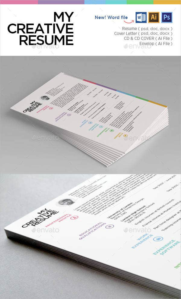 resume-cover-envelope-template