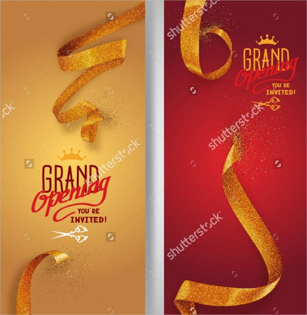 grand opening invitation banner for gym