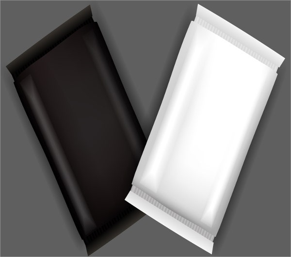 plastic soap wrapper template
