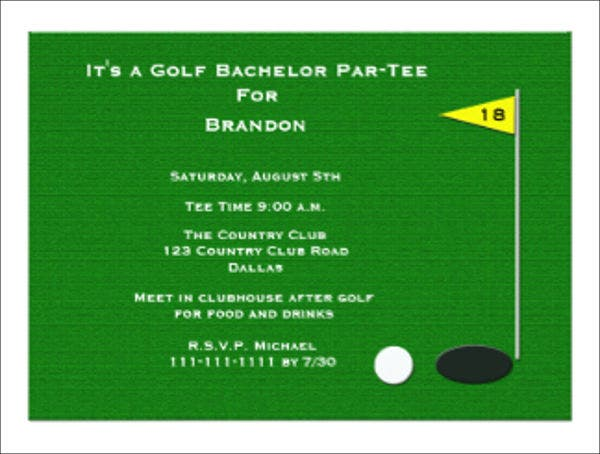 golf-bachelor-party-event-invitation