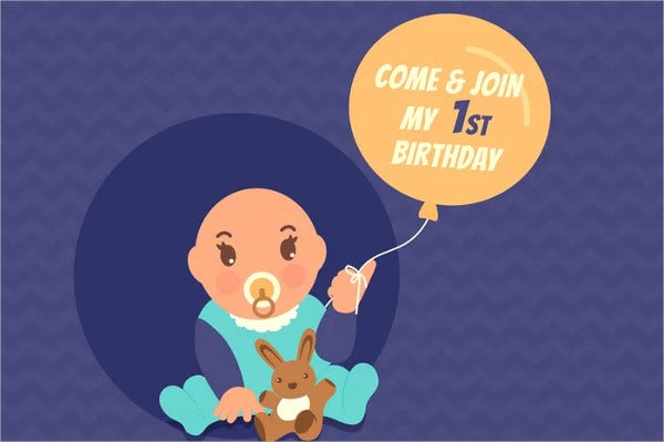 funny birthday party invitation