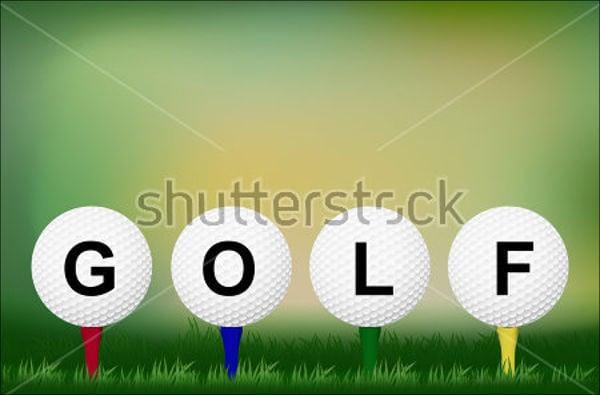 golf event invitation wording