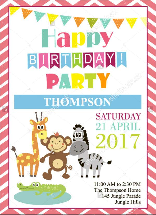 free funny party invitation template1