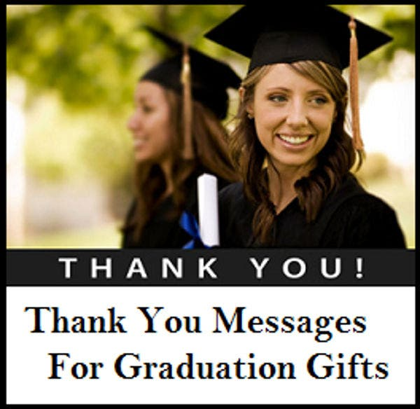 sample graduation thank you card - Graduation Thank You Cards