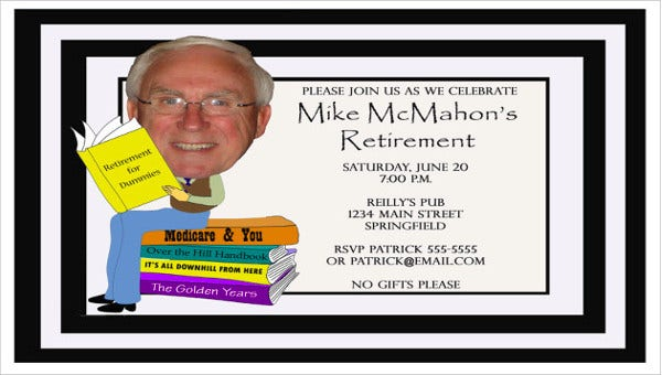funny retirement party invitation2