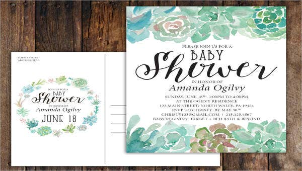 9babyshowerinvitationpostcards