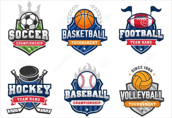 8 vintage sports logos designs templates free premium templates