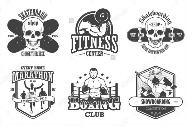 Vintage Sports Brand Logo