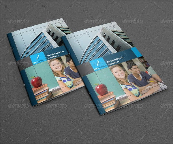 college annual magazine template