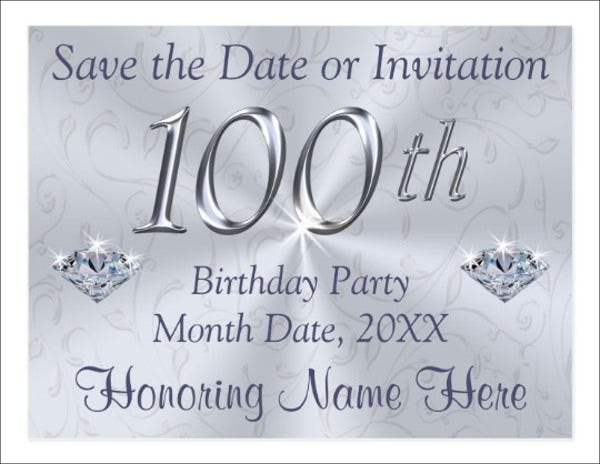 birthday event invitation postcard