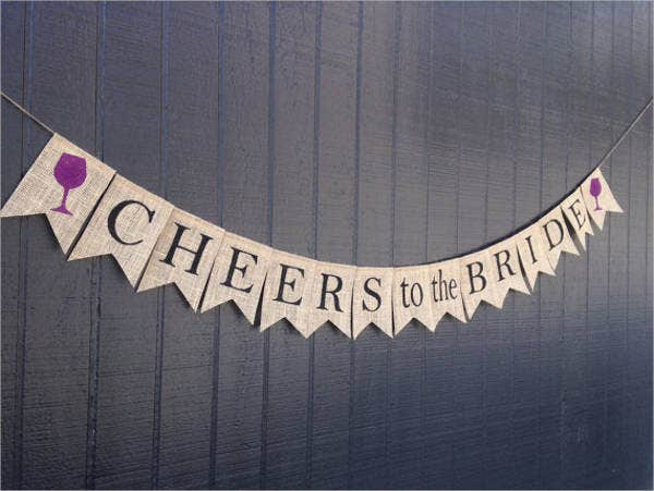 burlap-bachelorette-party-banner