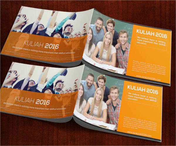college digital magazine template